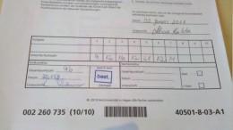 Einsendearbeit Kurs 40501 EVWL bestanden