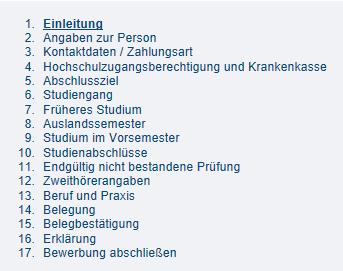 Fernuni Hagen Onlineantrag Einschreibung