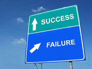Erfolg ist keine Einbahnstraße