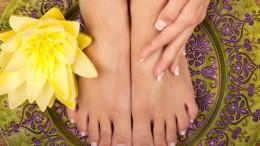 French Gel für die Füße