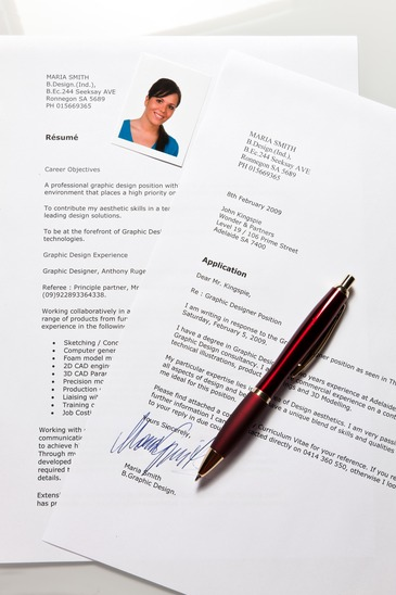 Job application and CV