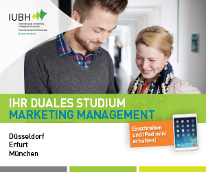 IUBH Duales Studium: Marketing-Management