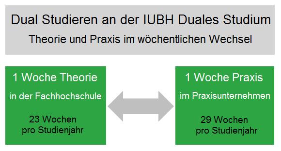 IUBH Duales Studium: Studienstruktur