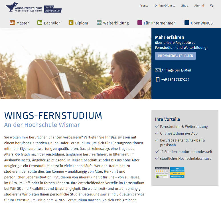 WINGS Fernstudium