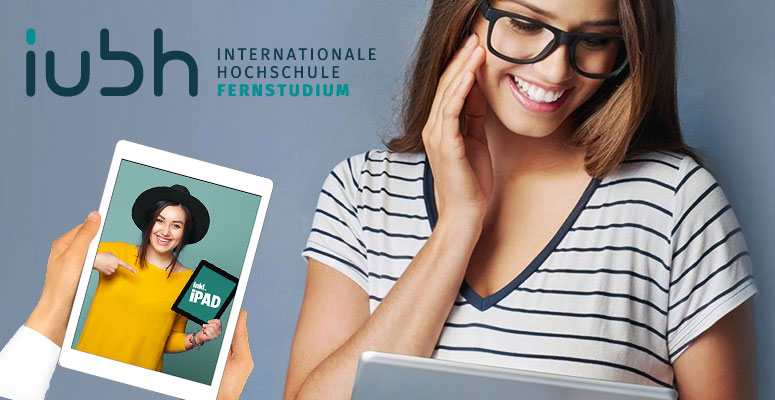 IUBH Fernstudium Rabatt & gratis iPad